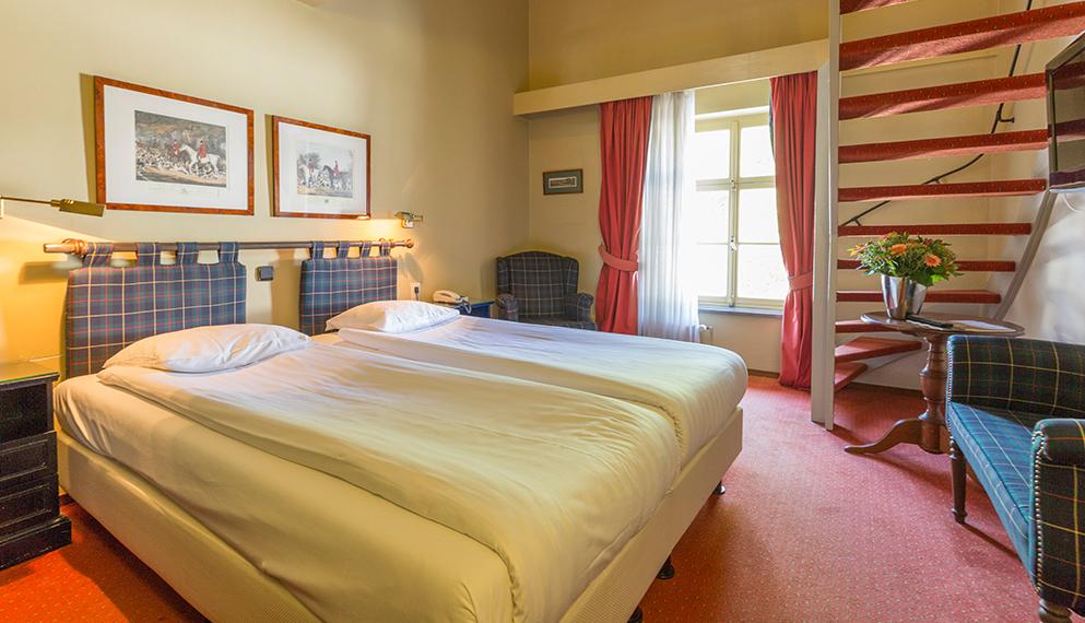 Kamer Romantisch Maken : Hotelkamer in limburg fletcher hotel restaurant kasteel erenstein